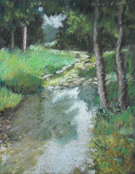Dutch Mills Creek-Study by Julie Mayser
