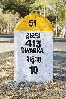 Kantilal Patel - Dwarka 413 kilometers