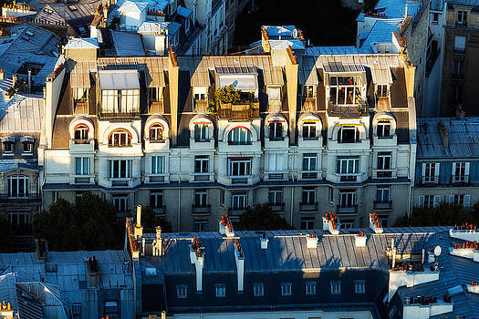 Dwelling Below the Eiffel Tower by Kirk Strickland
