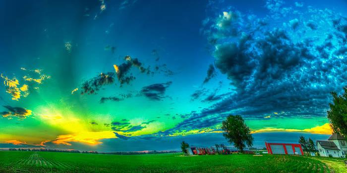 Dynamic Kansas Farm by  Caleb McGinn