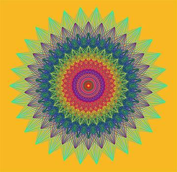 E8 Mandala by J Gregory Moxness