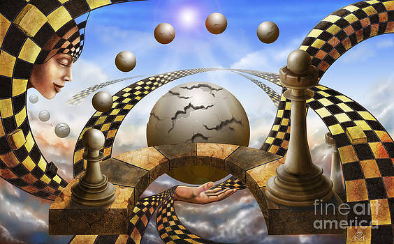 Each Pawn dreams to become a Queen by Serge M