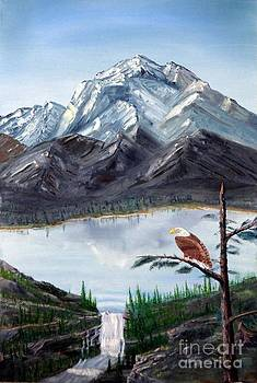 Eagle at Denali by Stephen Schaps