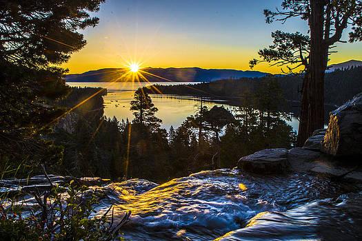Eagle Falls Sunrise by Brandon McClintock