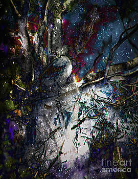 Eagle In Winter by Nancy TeWinkel Lauren