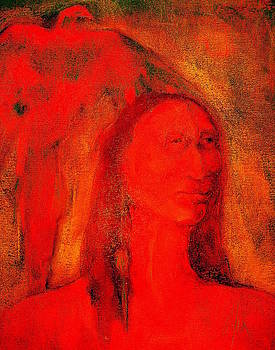 Eagle is my Totem by Johanna Elik