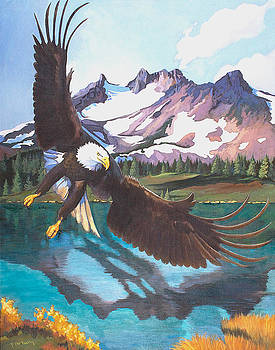 Eagle Oregon Lake by Susan McNally