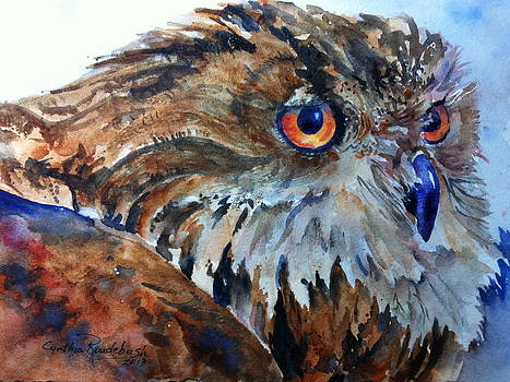 Eagle Owl by Cynthia Roudebush