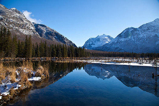 Eagle River Valley by Chris Heitstuman