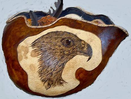 Eagle by Sandra Durning