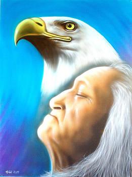 Eagle Spirit by Amatzia Baruchi