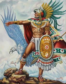 Eagle Warrior  by Arturo Miramontes