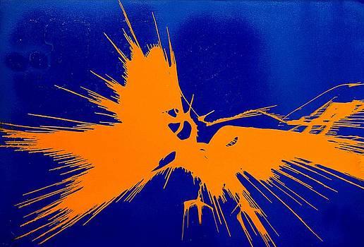 Eagles Fight II by Syma Art