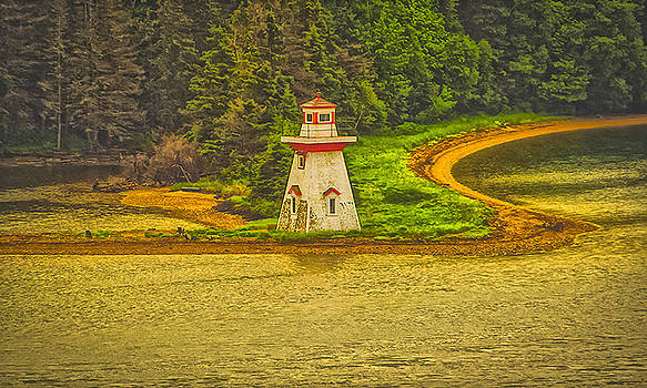 Eagles Lighthouse by Will Burlingham