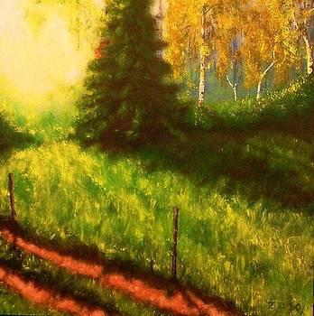 Early autumn by Danas Zymonas