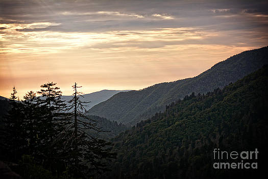 Early Evening in the Smokey Mountains by Eva Thomas