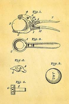 Ian Monk - Early Golf Ball Marker Patent Art 19th Century