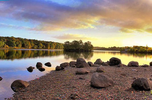Early Light Banton Loch by Catherine Perkinton
