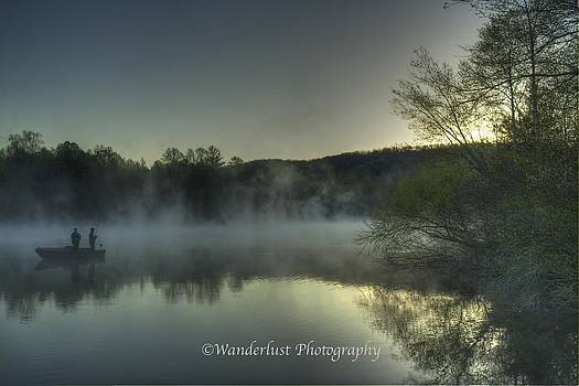 Early Morning Anglers by Paul Herrmann
