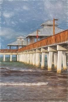 Kim Hojnacki - Early Morning at Fort Myers Beach