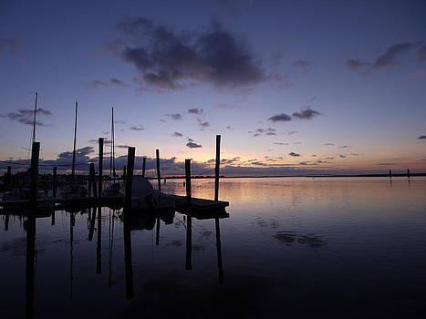 Early Morning At The Marina by Teresita Abad Doebley