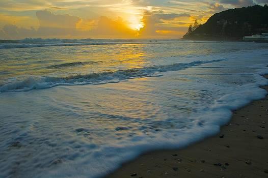 Early Morning Beach Sunrise by Shane Dickeson