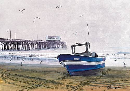 Early Morning Dory Boat by Bill Hudson