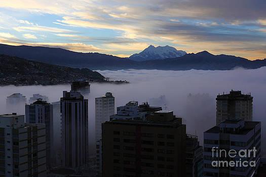 James Brunker - Early Morning Fog in La Paz