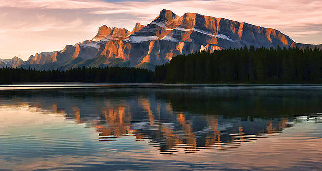 Early Morning Light at Two Jack by Jeff R Clow