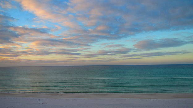 Early Morning on the Gulf by Denise   Hoff