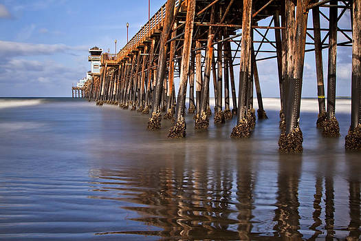 Early Morning Pier by Julianne Bradford