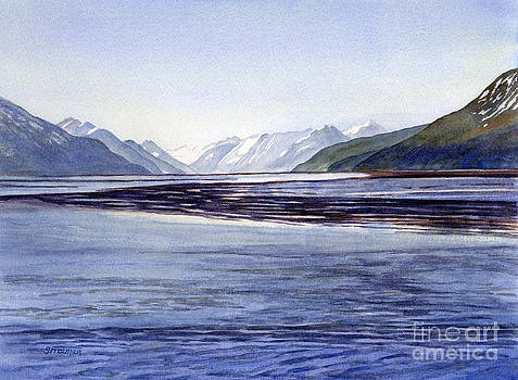 Sharon Freeman - Early Morning Shadows Turnagain Arm