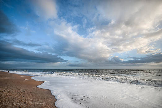 Early morning Vilano Beach by Stacey Sather