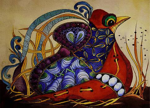 Early Worm Gets the Bird by Mary Beglau Wykes
