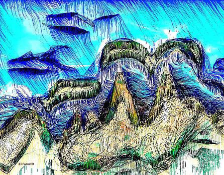 Dee Flouton - Earth Seascape