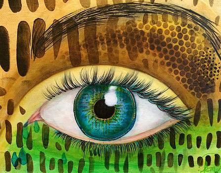 Earth's Eye by Kitty Miller