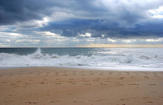 Earth's Layers - Jersey Shore by Angie Tirado