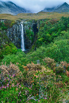 David Ross - Eas Mor Waterfall Isle of Skye