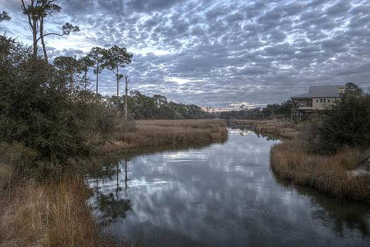 East Beach Bayou by Ron  Maxie