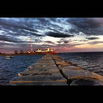 East Point #lighthouse #iphone by Corey Sheehan