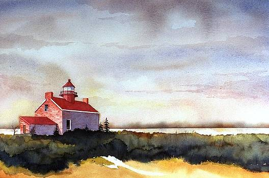 East Point Lighthouse by William Renzulli