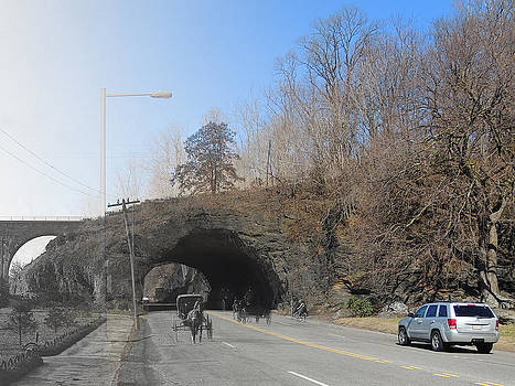 East River Drive Rock Tunnel by Eric Nagy