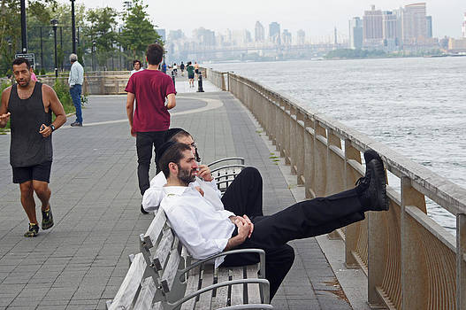 Steve Breslow - East River late Afternoon