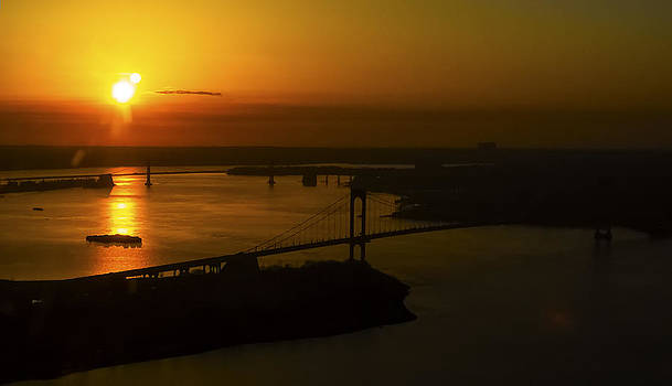 East River Sunrise by Greg Reed