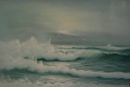 East sea Breeze by Brent Vall Peterson