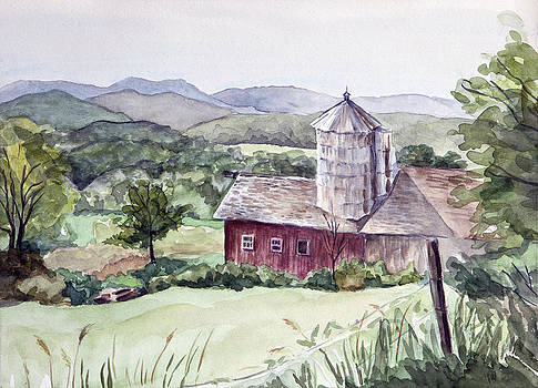 East Street Barn by Ina Whitlock