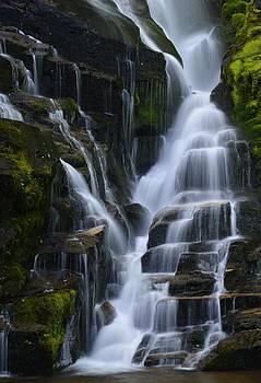 Eastatoe Falls Detail #5 - North Carolina waterfalls series by Matt Plyler