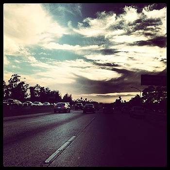 Eastbound 10 Freeway West Of Downtown by Jack Hunter Cohen