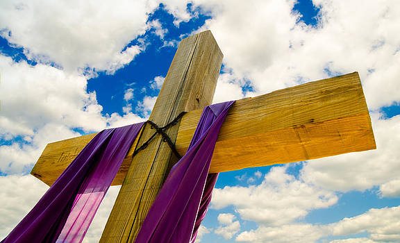 Easter Cross by Robert Hainer