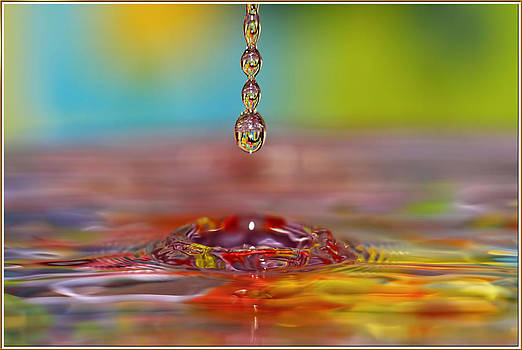 Easter drop water  by Geraldine Scull